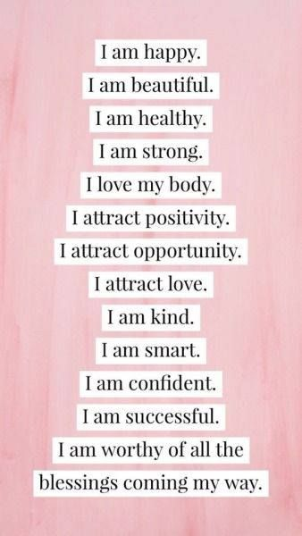 SELF AFFIRMATION QUOTES