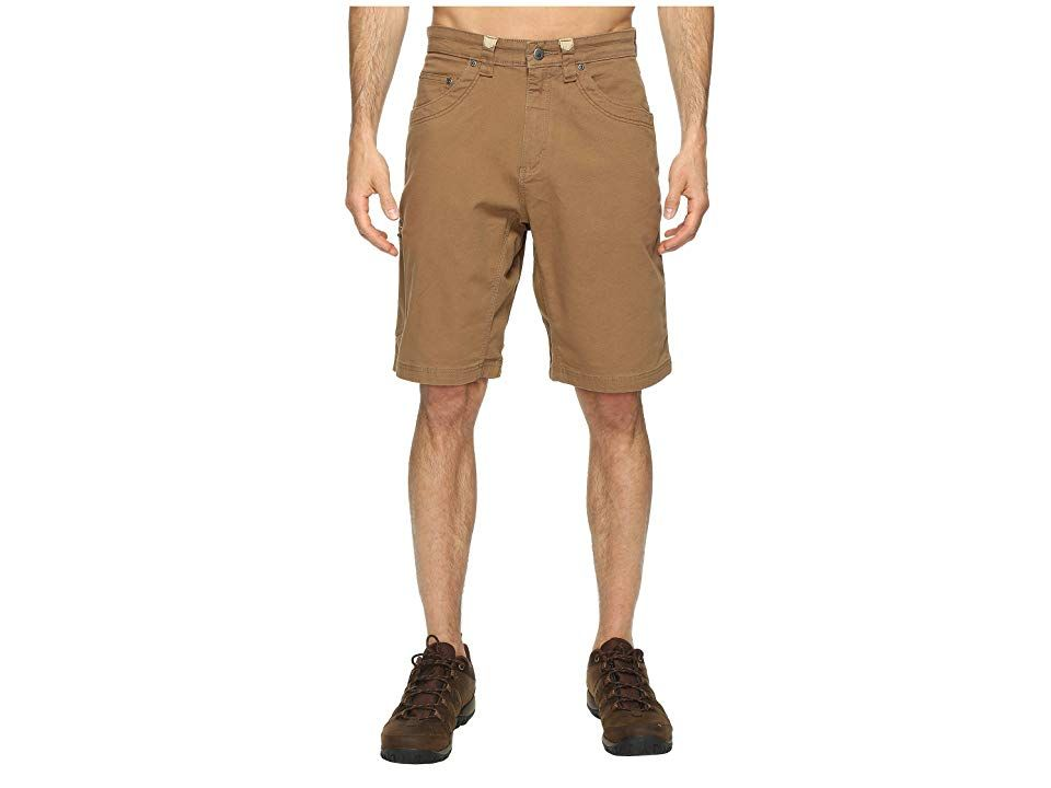 Mountain Khakis Camber 107 Short Tobacco Mens Shorts When youre getting a little rowdy whether youre at the tailgate or playing a game of touch in the backyard the Camber...