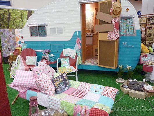 Glamping by Fat Quarter Shop, via Flickr