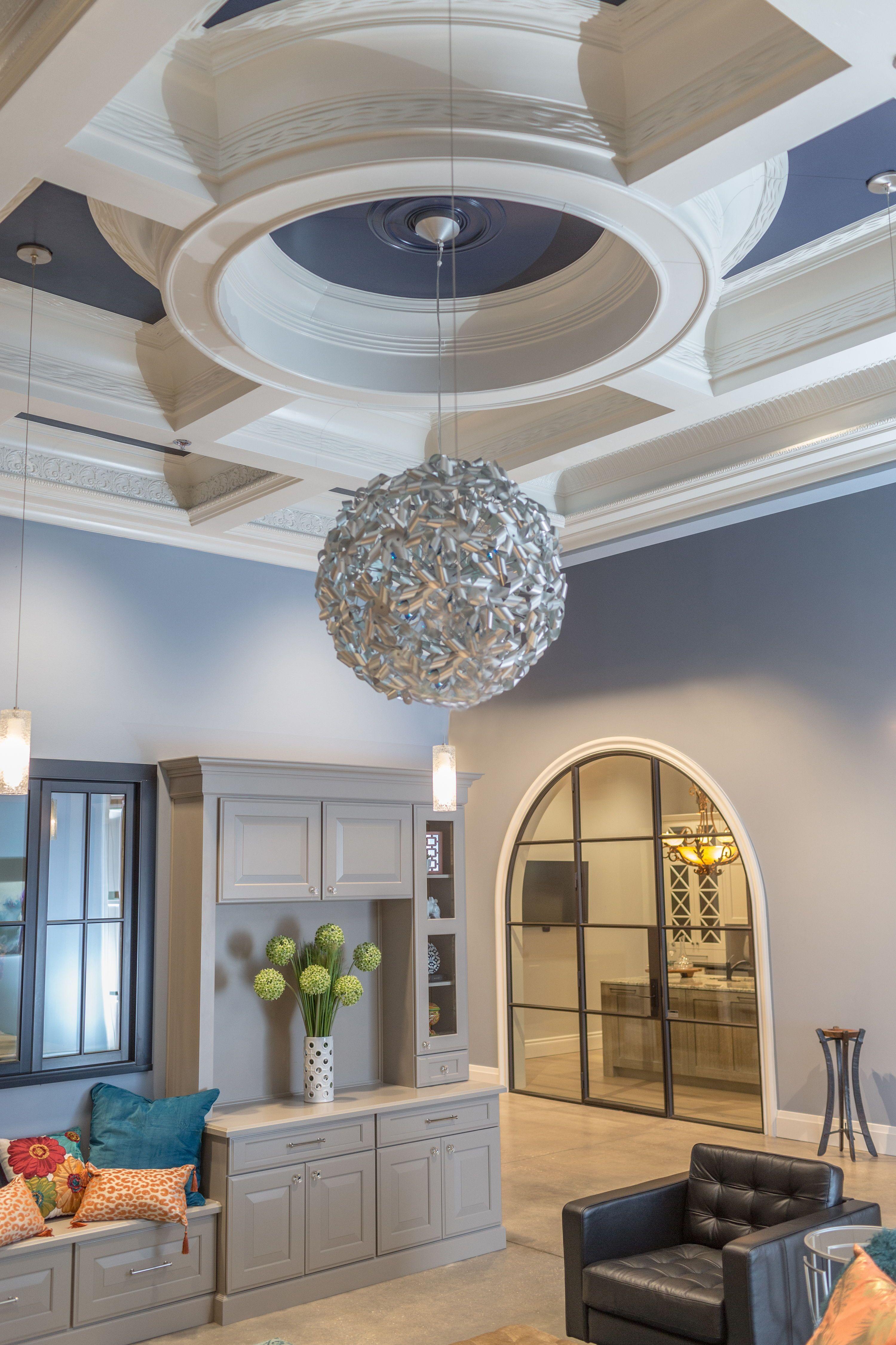 Modern Coffered Ceiling Inspiration Bmc Design Center Home Design Magazines Showroom Design House Design