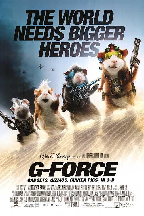 G Force 2009 Force Movie Walt Disney Movies G Force