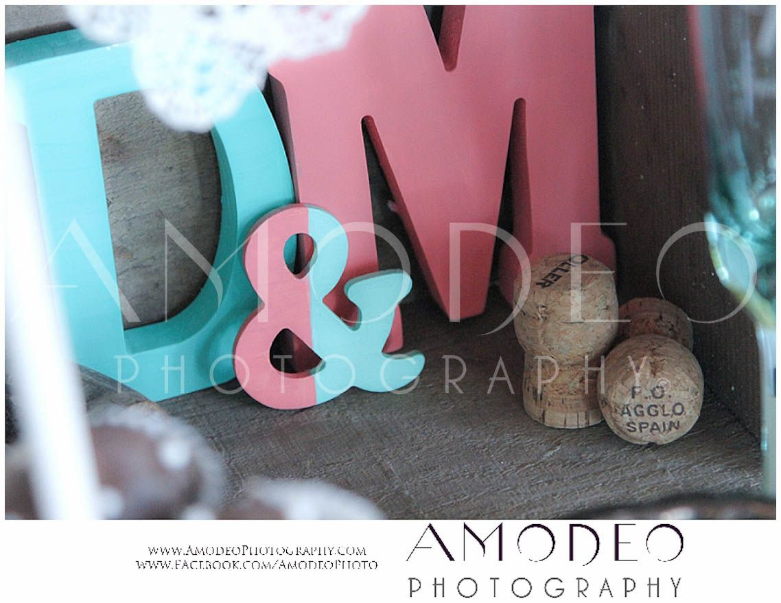 Coral and teal monograms hand carved wooden monograms do it coral and teal monograms hand carved wooden monograms do ityourself wedding solutioingenieria