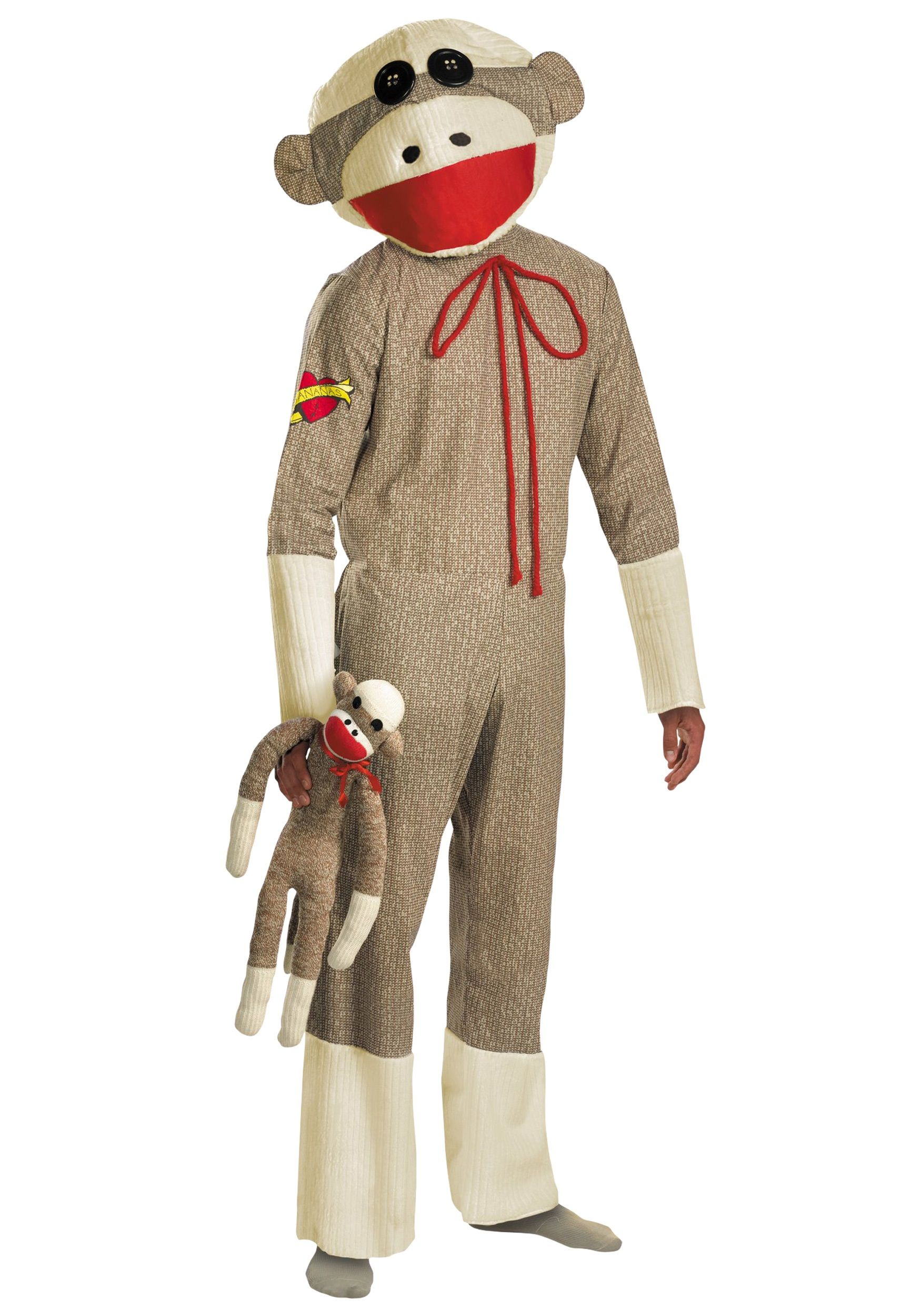 adult sock monkey costume | halloween | pinterest | sock monkey