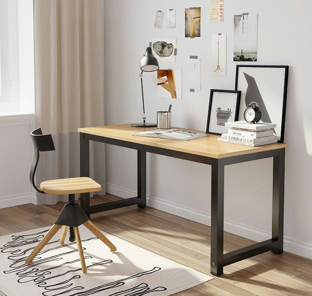44 The Best Computer Workstation Desk Ideas That Scale Up Your Productivity Home Office Table Office Table Desk Desk Design