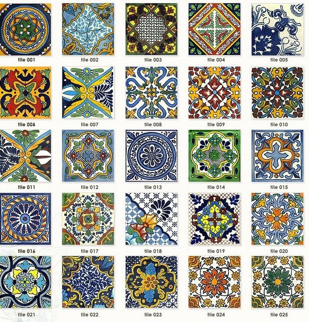 spanish tile designs carlage