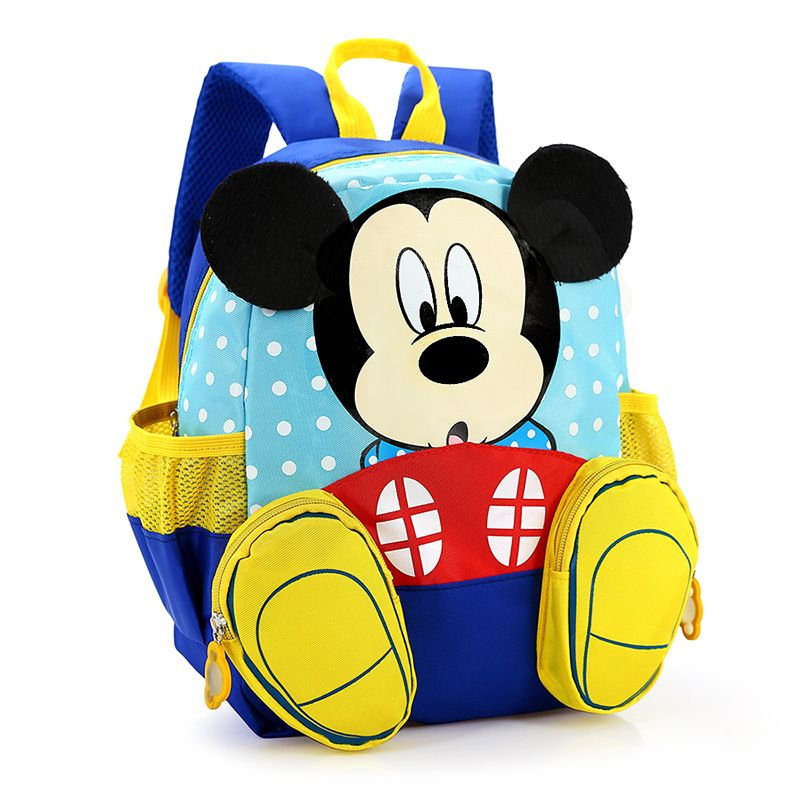 bc2a1180795 Waterproof Child School Bag Cartoon mickey children backpack kids  kindergarten backpack kid school bag Satchel for boys girls