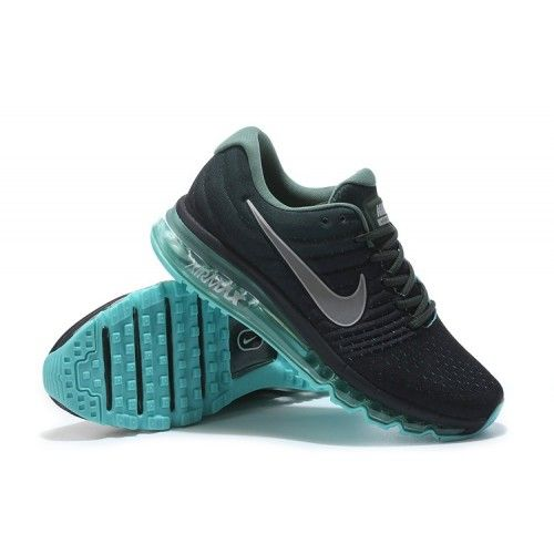 best value d4fbe c8f5f Kjøp Nike Air Max 2017 - Billig Herre Nike Air Max 2017 Svart Jade Gra Salg
