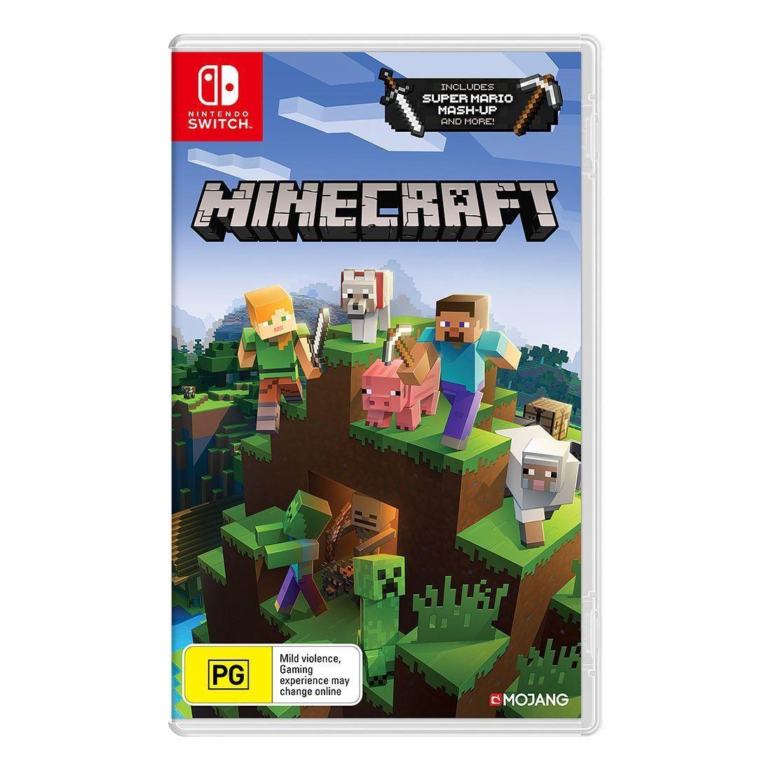 Minecraft - Switch  Target Australia in 9