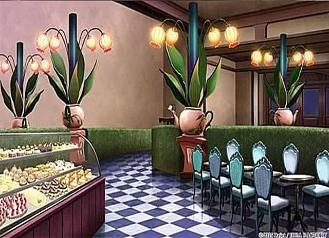 Dining Room, Background, Anime Background, Anime Scenery, Visual .