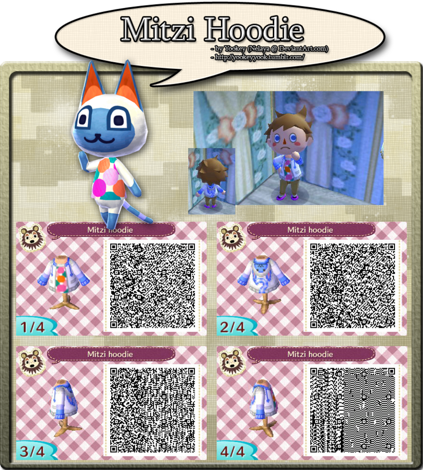 Animal Crossing New Leaf Qr Code Also Posted On My Tumblr