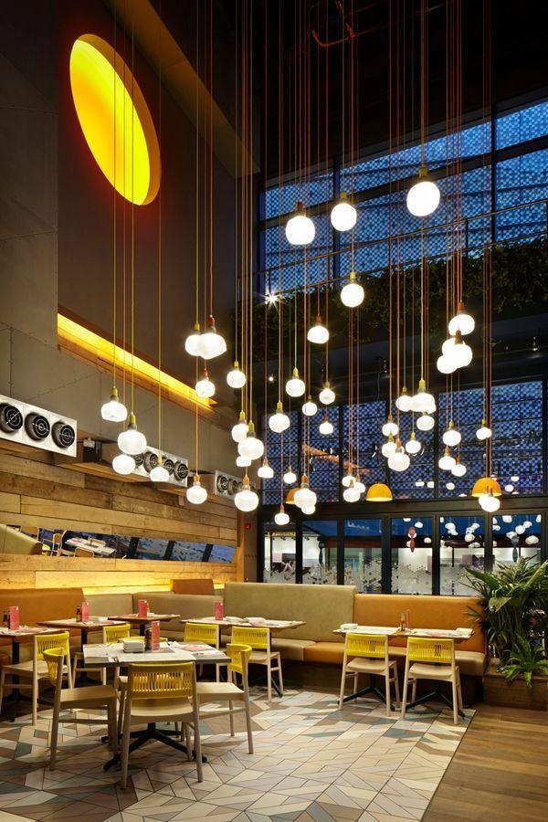 Commercial Lighting Fixtures Modern Pendant Lighting Fixtures Restaurant Lighting Restaurant Interior Design Bar Lighting Design Bar Design Restaurant