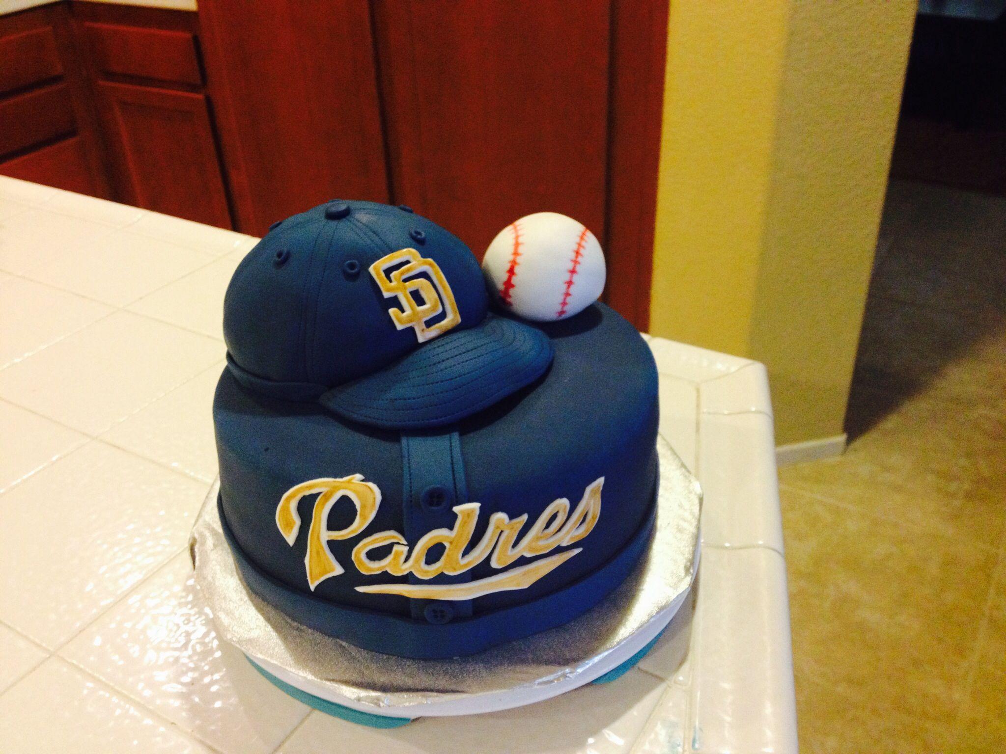 Padres Cake