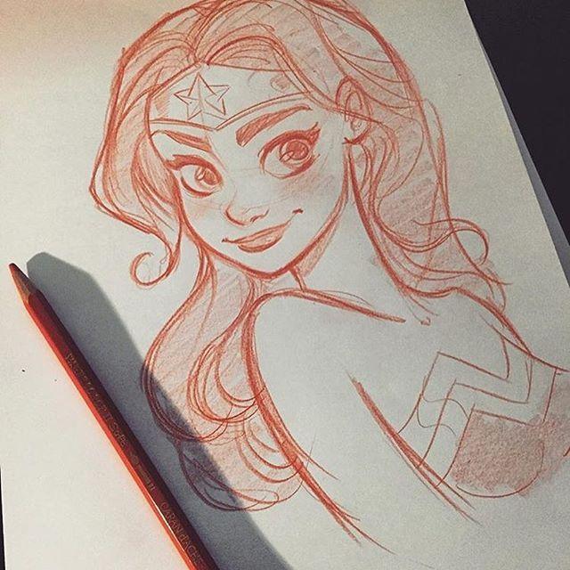 Happy Birthday, Diana! #wonderwoman #wonderwoman75 #DCComics #Drawing #Sketch #Pencil #FabioValle #FabValle #artwork