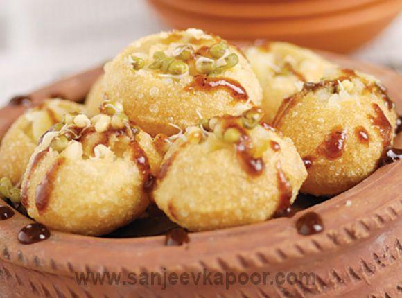 Paani puri food pinterest puri recipes sanjeev kapoor and recipes house home photo indian pani puri appetizers recipe forumfinder Gallery