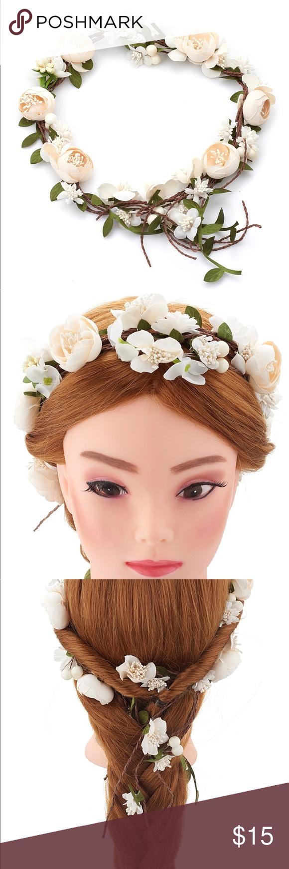 Vintage flower crown flower crowns crown and hair accessories vintage flower crown izmirmasajfo