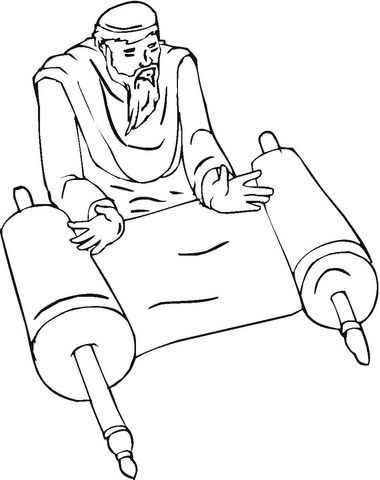 Prophet Coloring Page Coloring Pages Bible Coloring Pages