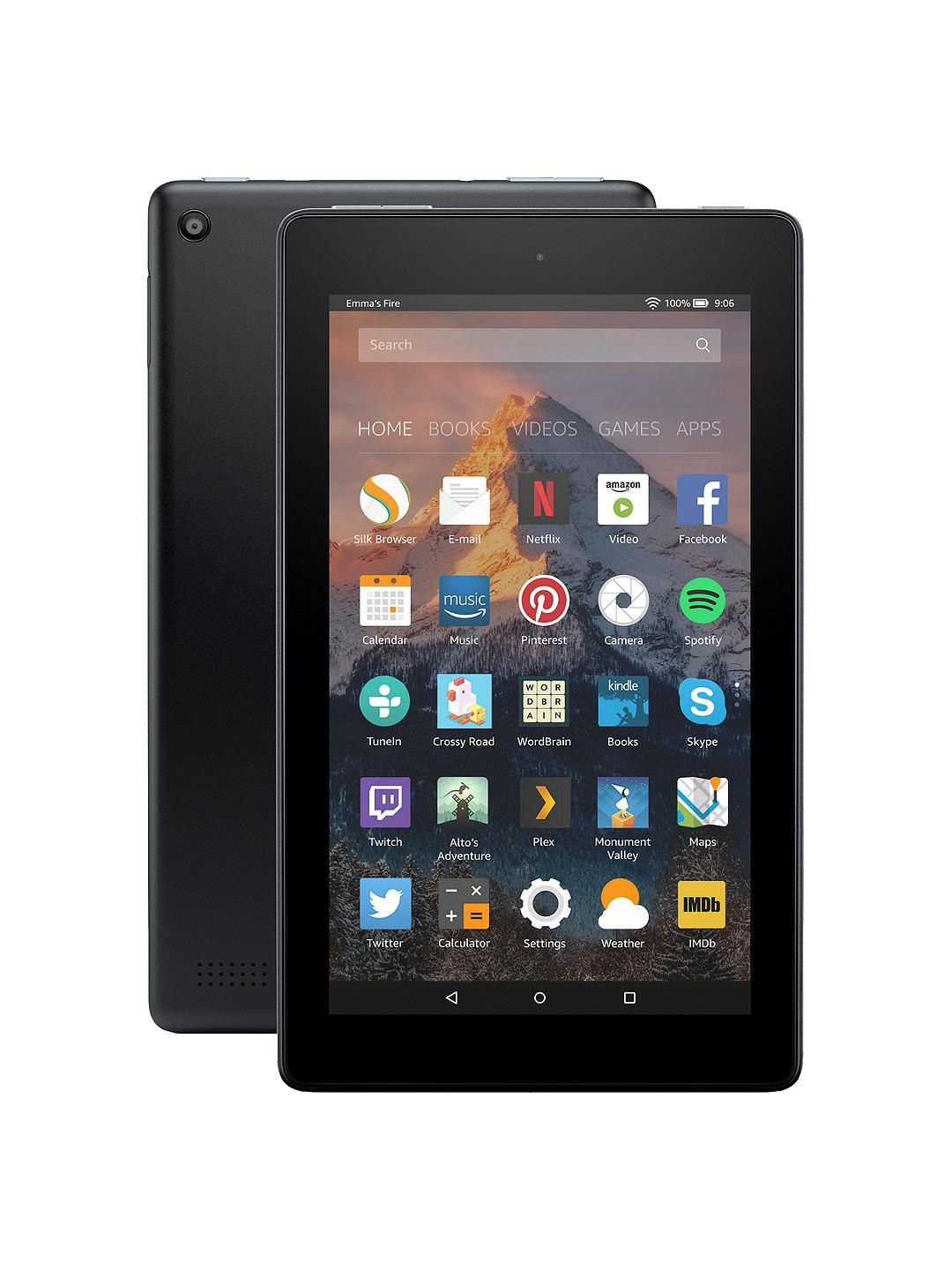 BuyNew Amazon Fire 7 Tablet with Alexa, Quadcore, Fire OS