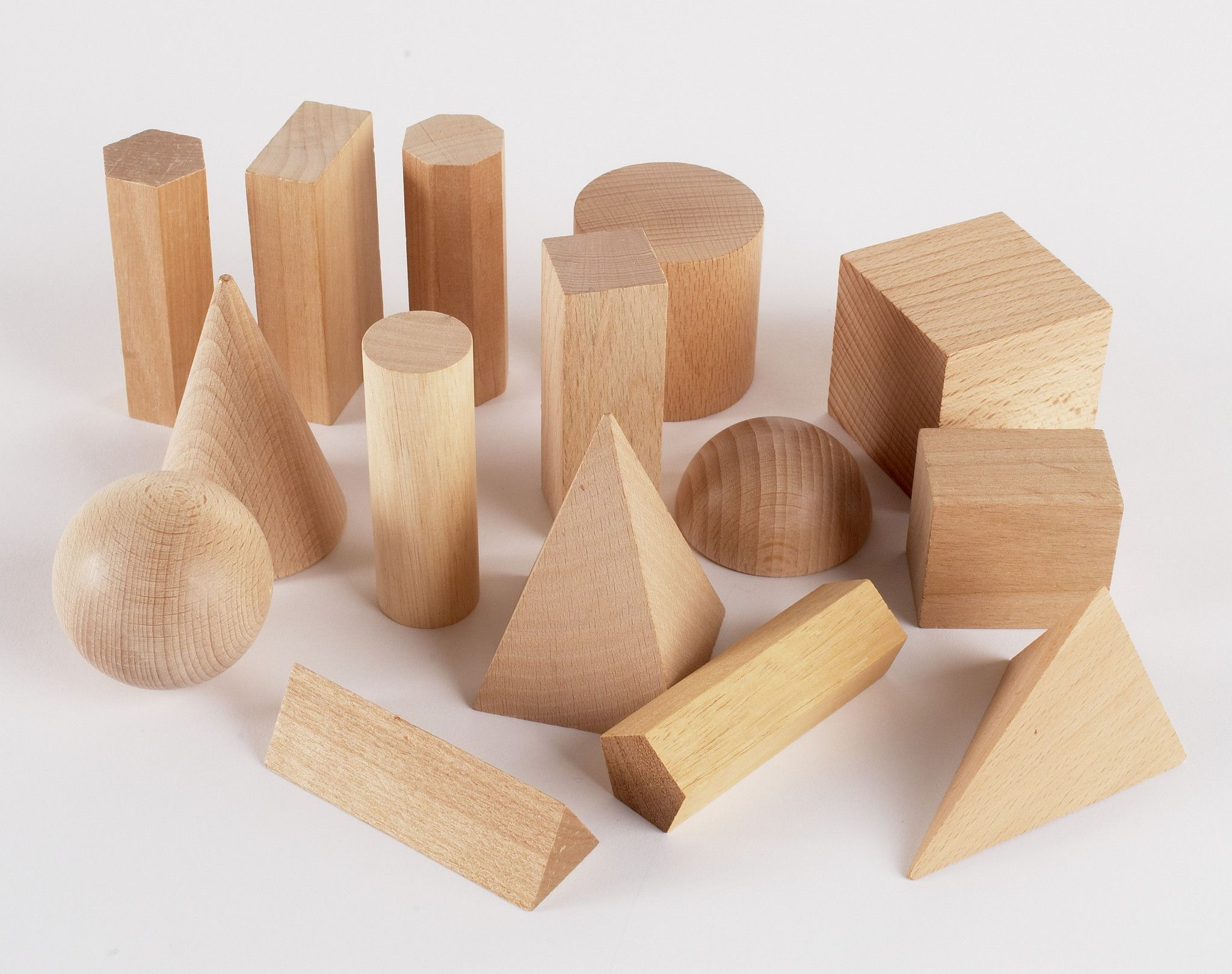 Wooden Geometric Solids