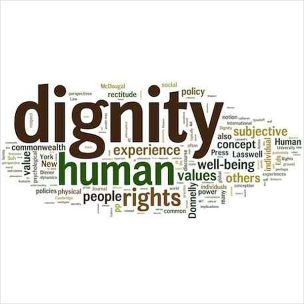 human dignity On the view defended here human dignity in conjunction with the rule of law  makes additional, specific, demands on legal systems, namely the.