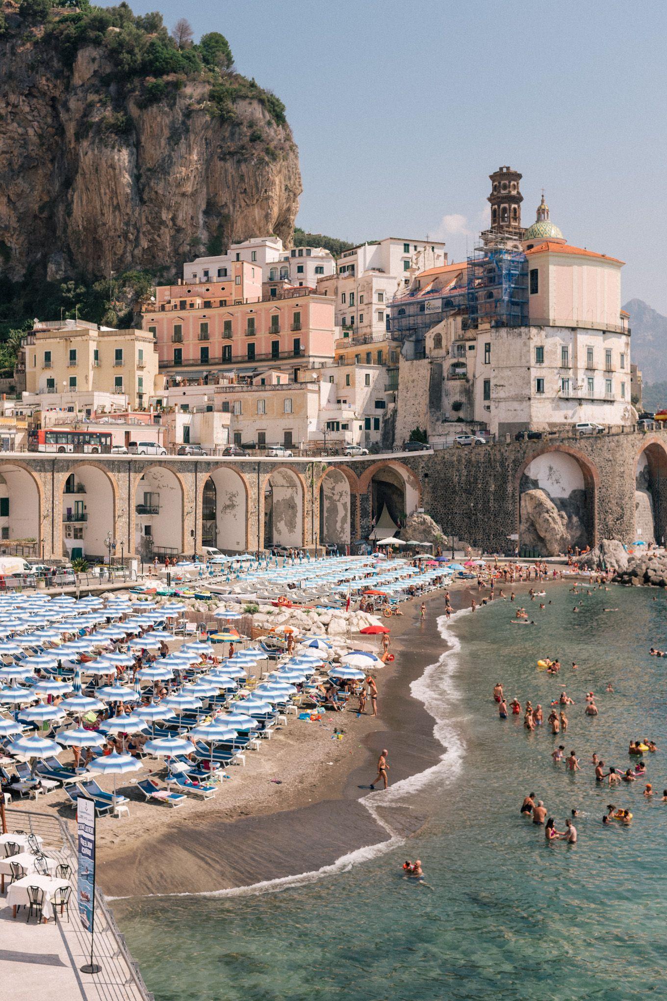 Amalfi Coast Drive In A Fiat Jolly
