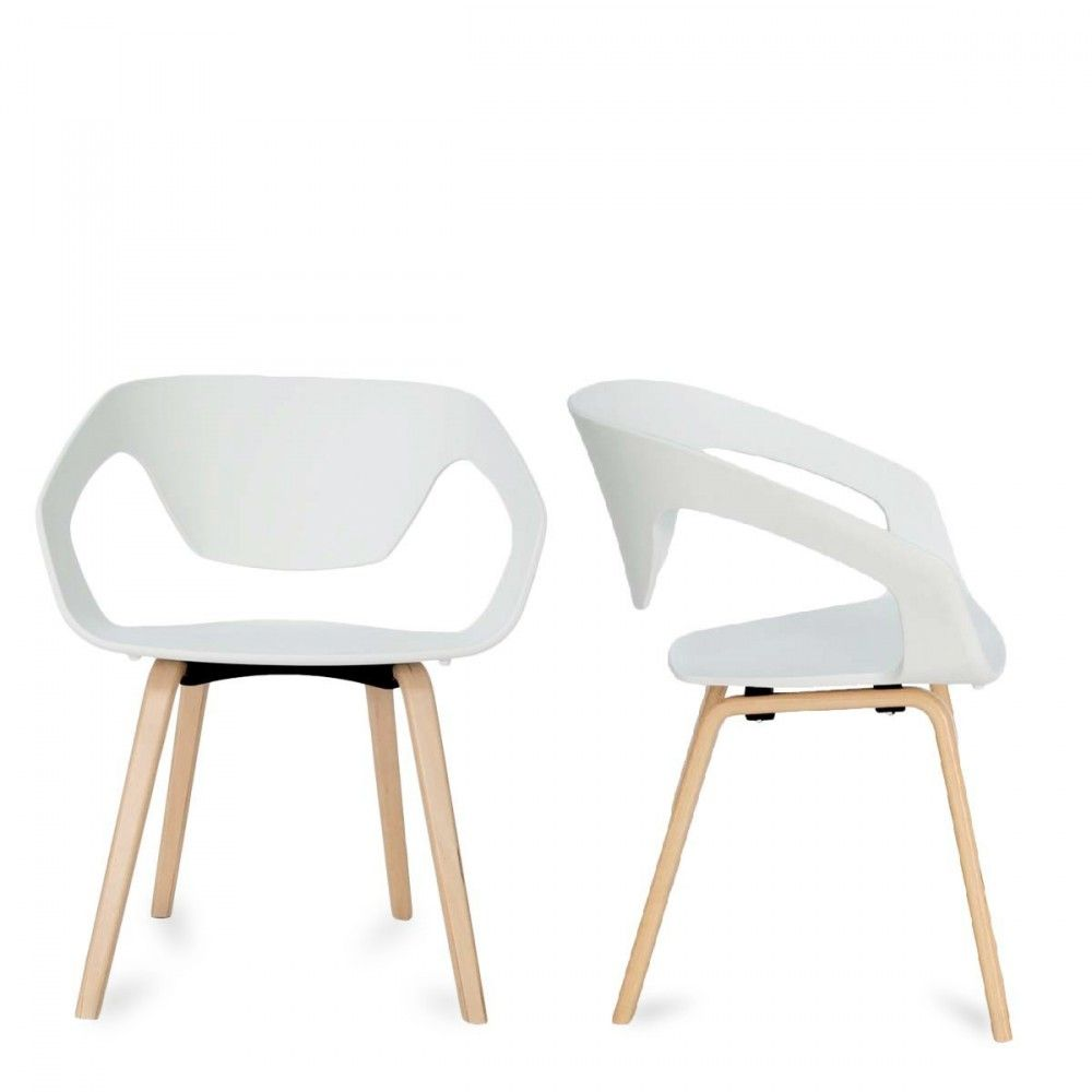Lot de 2 chaises design scandinave Danwood | Design products