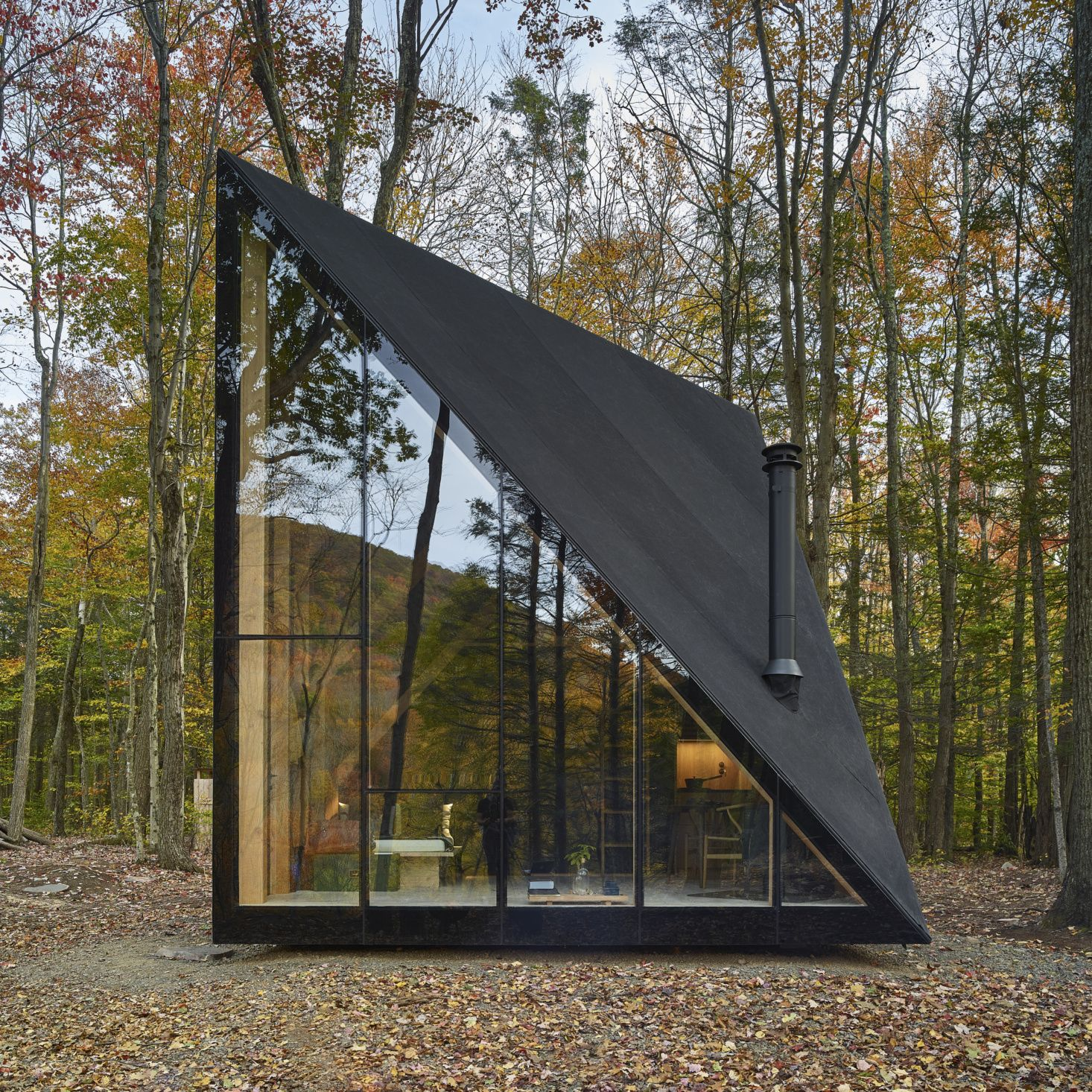 Luxe Scandinavian Tiny House A45 By Big Bjarke Ingels Group For Klein Architecture House Architecture Tiny Cabin