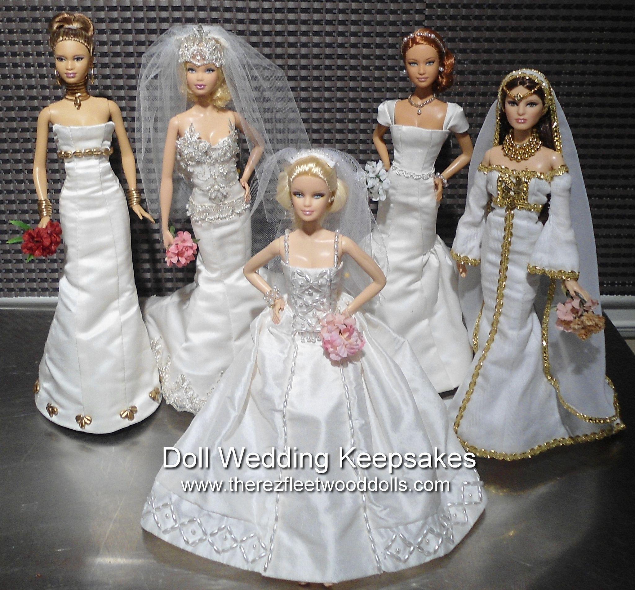 https://flic.kr/p/imJZoH  barbie dolls wedding dresses  custom