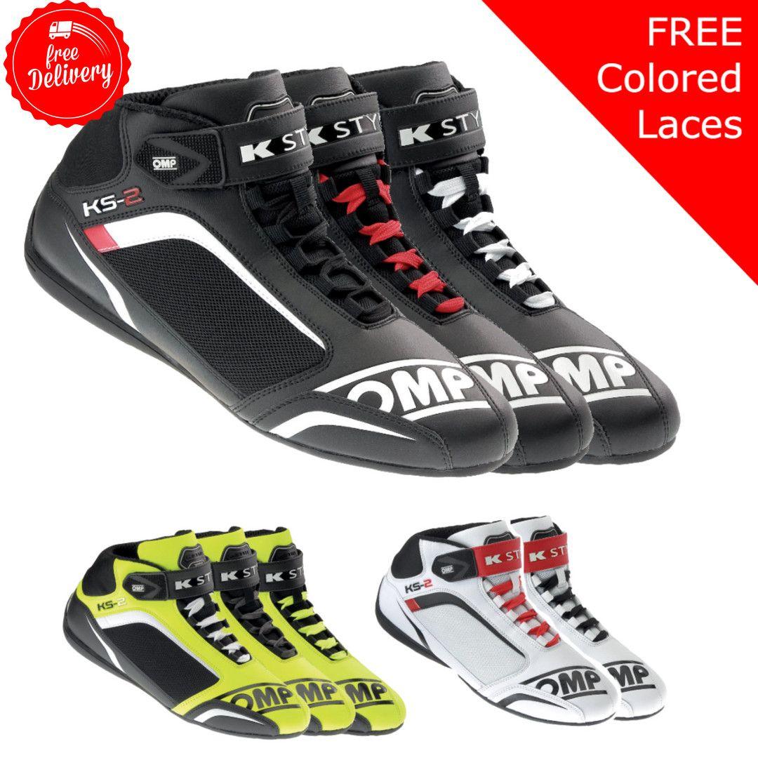 Omp Ks 2 Microfiber Karting Shoes Shoes Microfiber Velcro Straps