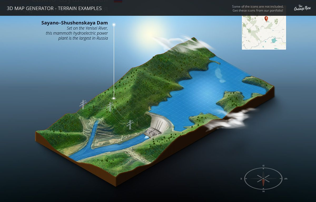 3D Map Generator - Terrain from Heightmap by Orange_Box