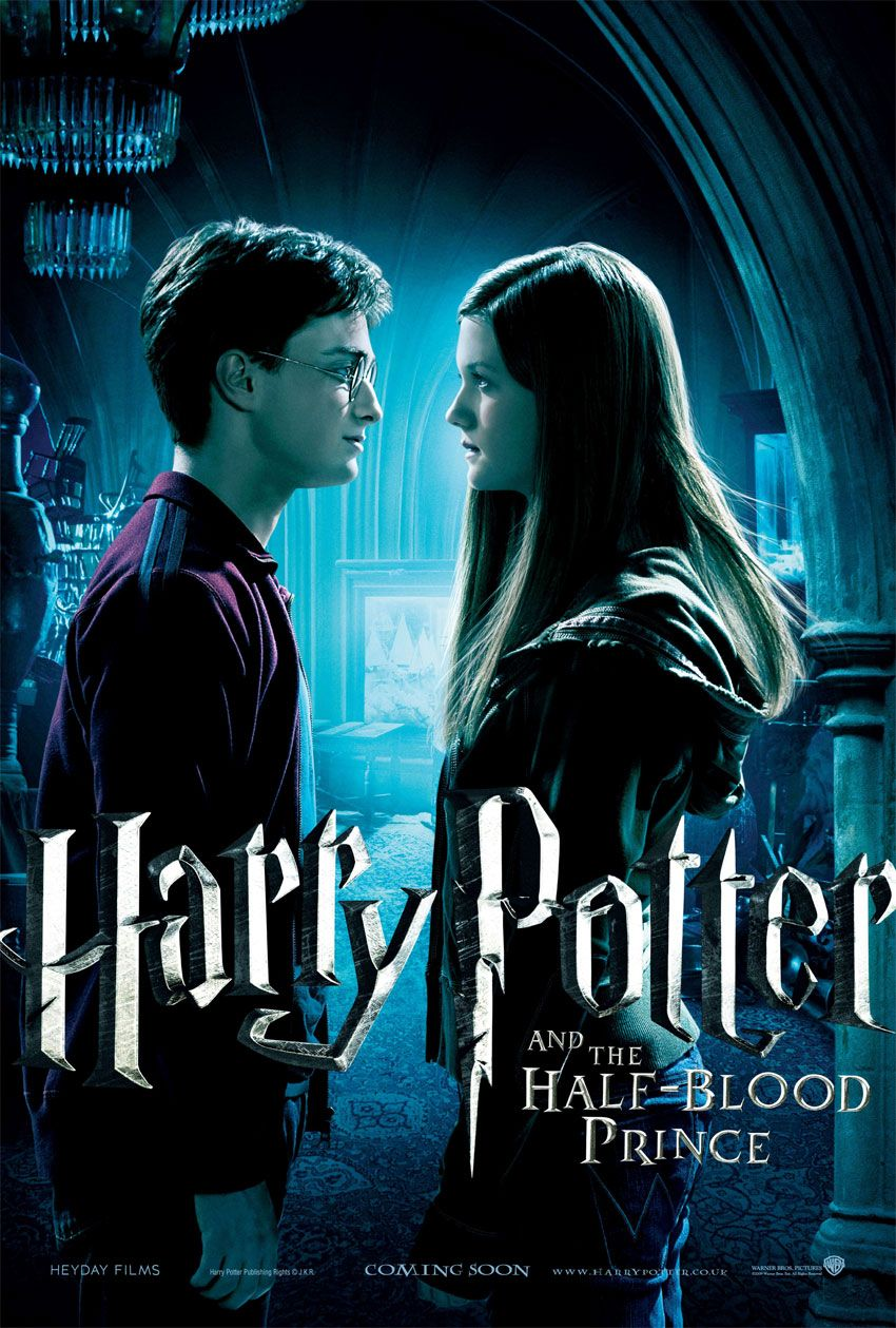 Harry Potter Pictures Harry Potter 6 Poster Des Neuen Harry Potter Films Veroffentli Harry Und Ginny Harry Potter Film Harry Potter Phantastische Tierwesen