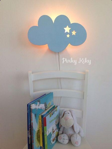 Wandlampe Schlummerlicht Wolke von Pinky Kiky Kinderzimmer Design ...