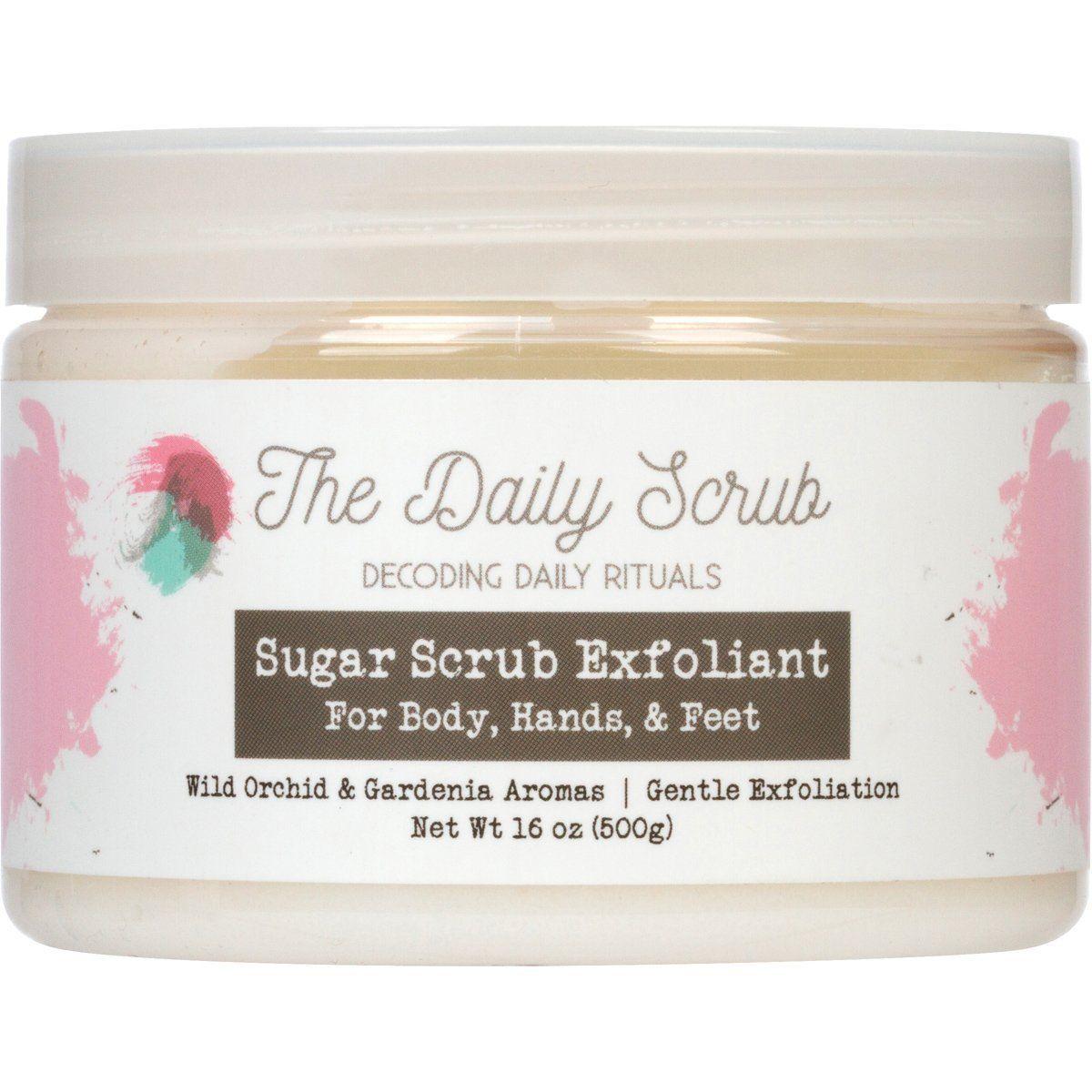 Sugar Body Scrub Nourishing Exfoliating Polish oz  Improves