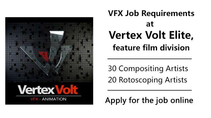 Vertex Volt Elite Studio Job Openings Of Compositing And Rotoscoping Job Opening Vertex Job