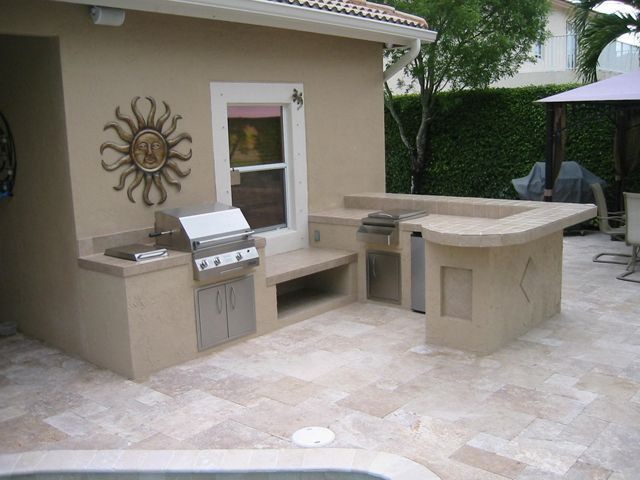 New patio and BBQ island | Orco Pavers | Pinterest | Bbq island ...