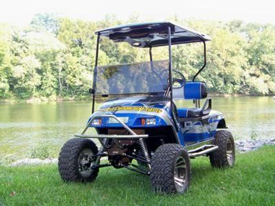 21++ Carlisle golf cart information