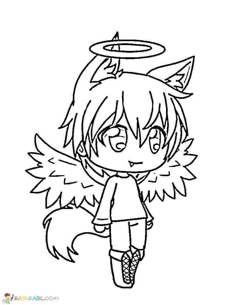 Gacha Life Printable Coloring Pages Gacha Life Coloring In 2020 Coloring Pages For Boys Coloring Pages Cute Coloring Pages