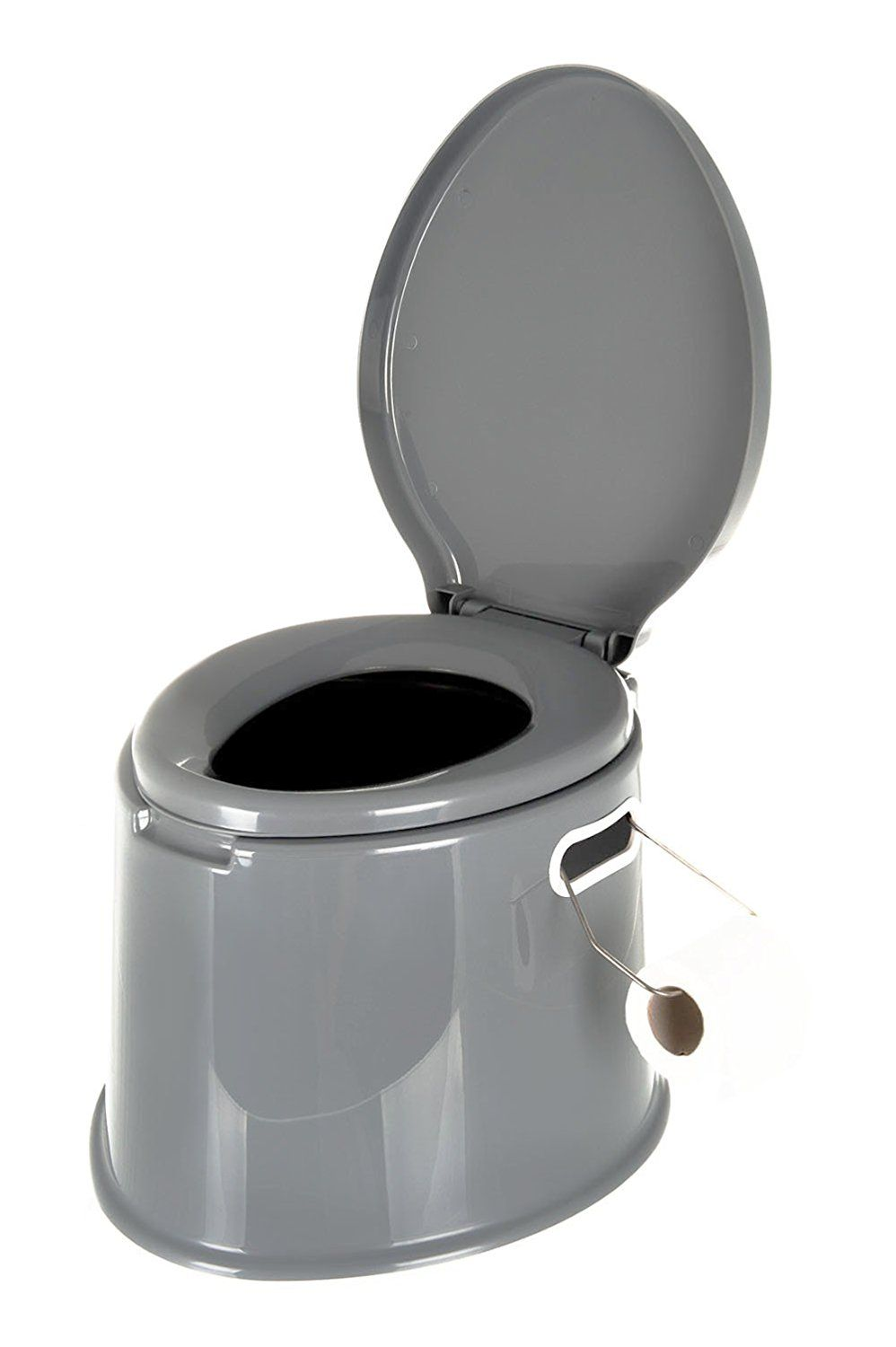 LIVIVO ® Lightweight and Portable 5L Camping Toilet with Seat, Lid ...