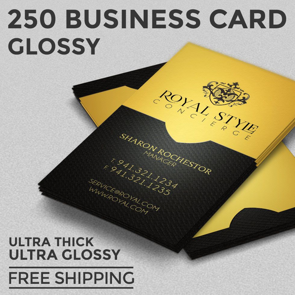 250 business card printing custom 16pt ultra glossy uv coated file preparation all printing is done on offset printer no copy machines or cheap paper design typesetting is not included reheart Gallery