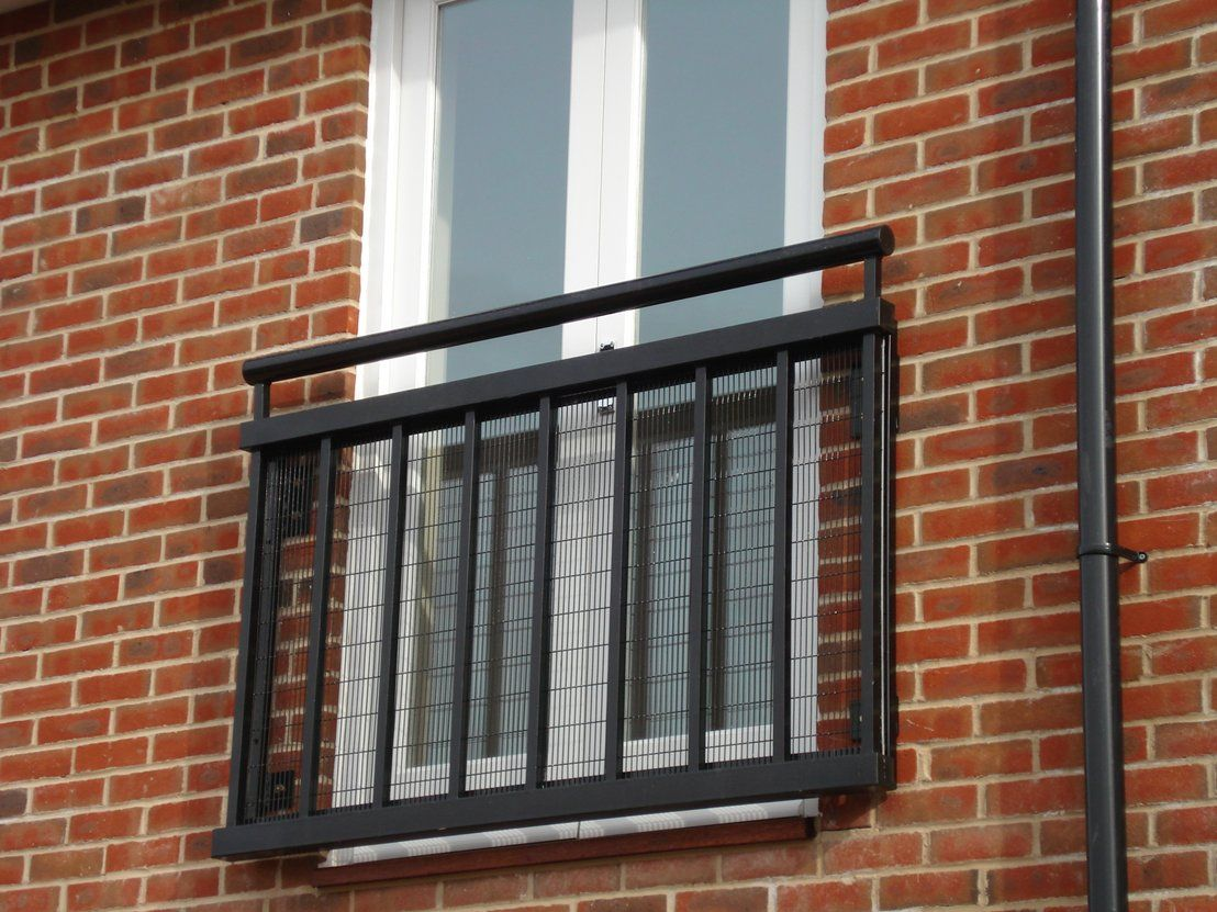 Thinking about buying a French doors-style Juliet balcony? If you have large windows or doors in your home or flat then a modern Juliet balcony is a ... & Thinking about buying a French doors-style Juliet balcony? If you ...