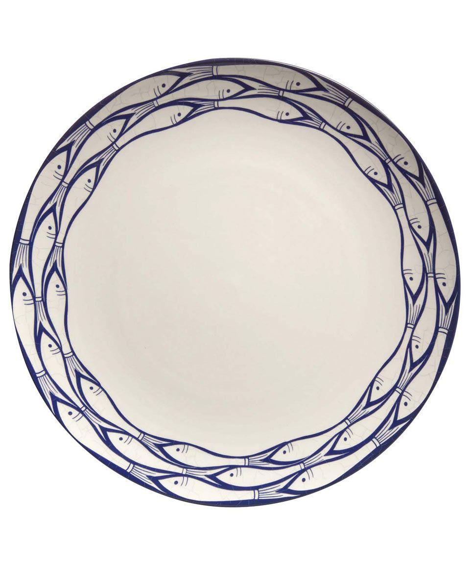 Jersey Pottery Sardine Run Dinner Plate | Ceramics by Jersey Pottery | Liberty.co.  sc 1 st  Pinterest & Jersey Pottery Sardine Run Dinner Plate | Ceramics by Jersey Pottery ...