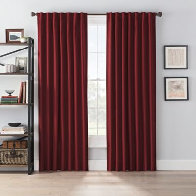 Smartblock Chroma 84 Rod Pocket Blackout Window Curtain Panel In