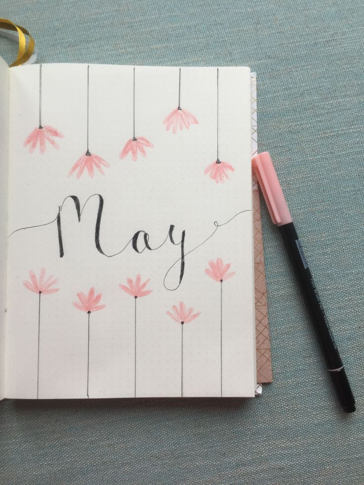 20+ Kreatives Bullet Journal Ideen Inspiration (Wie man ein Seitenlayout #bulletjournals