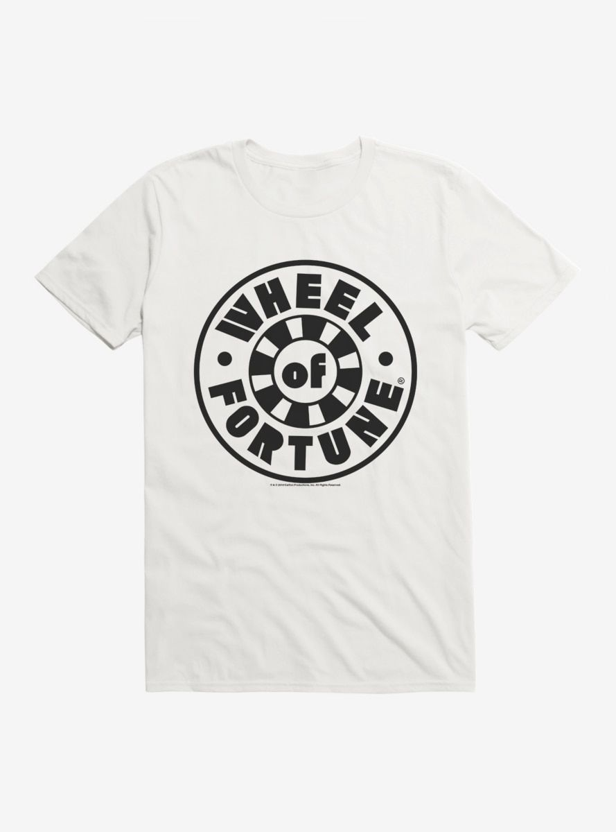 Wheel Of Fortune Classic Icon TShirt in 2020 Wheel of