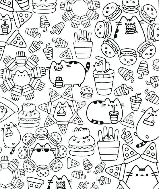 Kawaii Coloring Pages Printable | Pusheen coloring pages ...