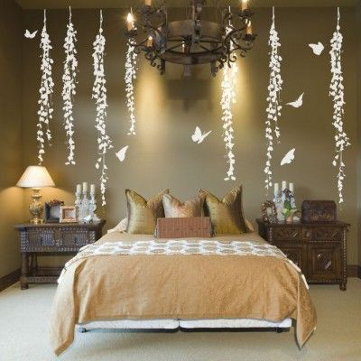 hanging vines decorative wall decals removable wall on wall stickers for bedroom id=56150