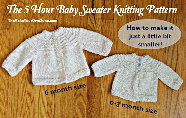 Free Printable Knitting Pattern For A Quick Knit Baby