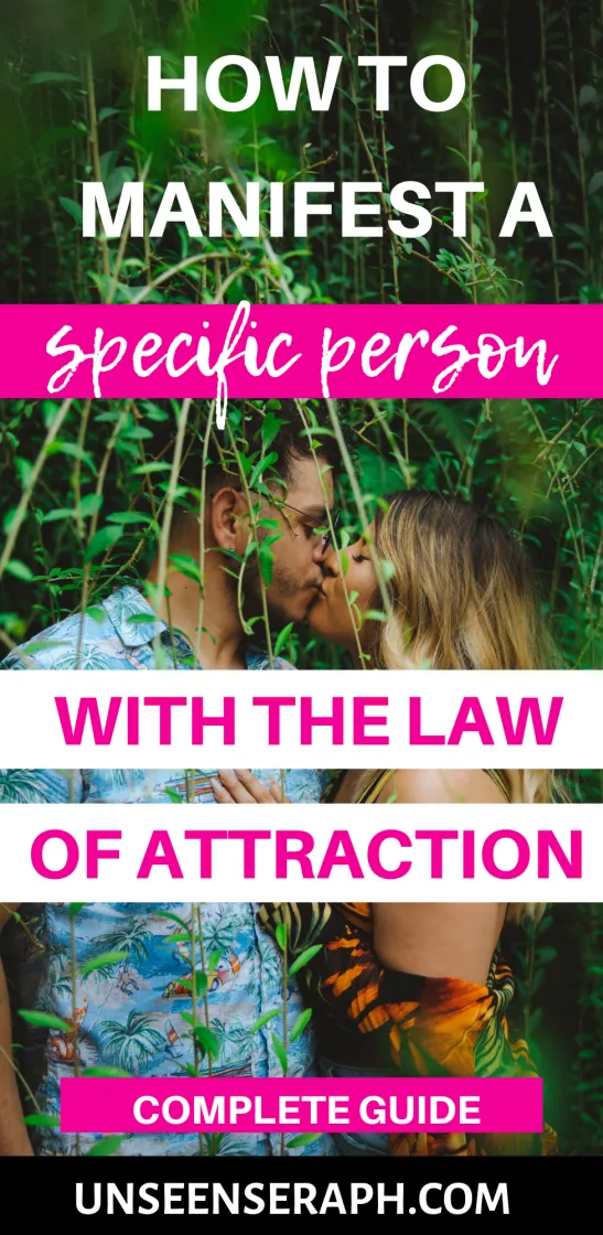 Person with manifesting love a specific Manifesting Love
