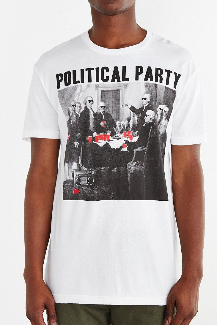 419282797 Riot Society Political Party Tee - Urban Outfitters | TShirt Design ...