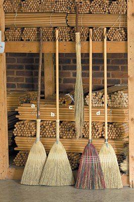 handmade rustic brooms | Brooms | College crafts, Brooms, brushes