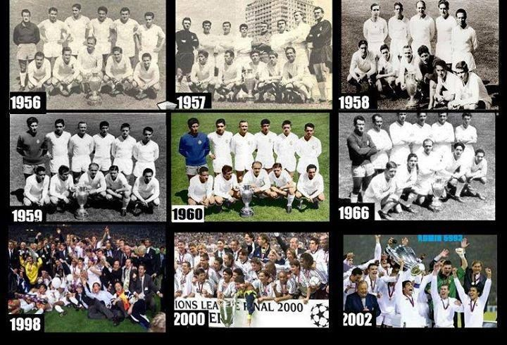 9 Uefa Champions League Titles For Real Madrid Real Madrid Football Club Real Madrid Football Real Madrid